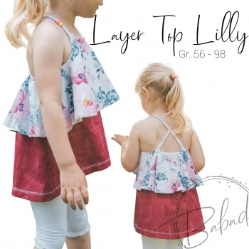 Layer Top / Dress Lilly Größe 56 - 98